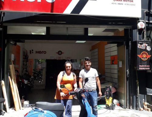 Fatihe Senetle Sıfır Kilometre Falcon Soft 50cc Motosiklet Verdik