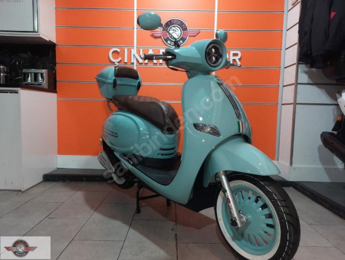 Arora Cappucino 125 2020 Model Motor Sıfır kilometre Senetle Motosiklet 4
