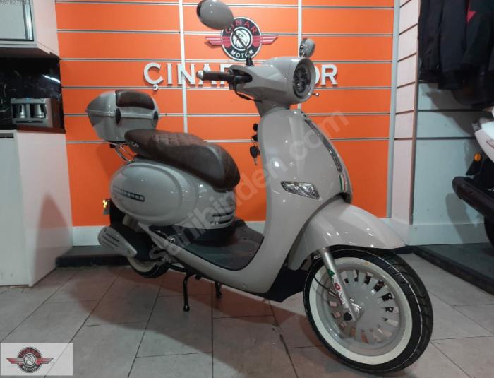 Arora Cappucino 125 2020 Model Motor Sıfır kilometre Senetle Motosiklet 2