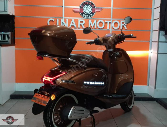 Arora Cappucino 125 2020 Model Motor Sıfır kilometre Senetle Motosiklet 3