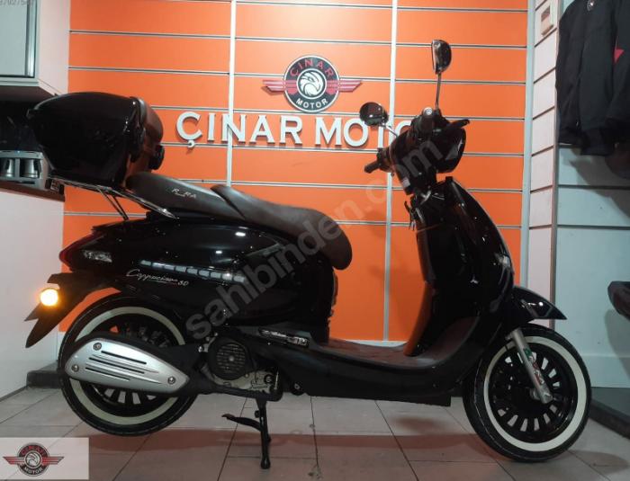 Arora Cappucino 125 2020 Model Motor Sıfır kilometre Senetle Motosiklet 5