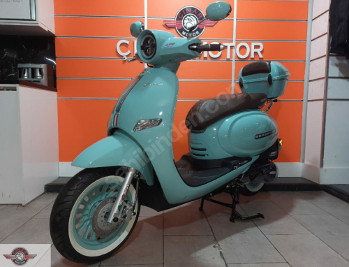Arora Cappucino 125 2020 Model Motor Sıfır kilometre Senetle Motosiklet 8