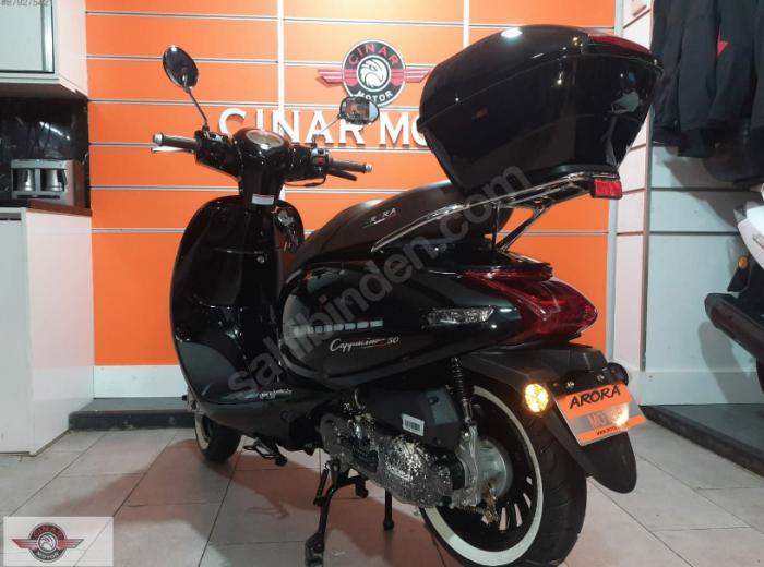 Arora Cappucino 125 2020 Model Motor Sıfır kilometre Senetle Motosiklet 7
