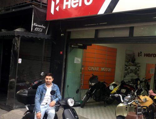Halil İbrahime Senetle Sıfır Kilometre SYM Fiddle III 2019 Model Motosiklet Verdik