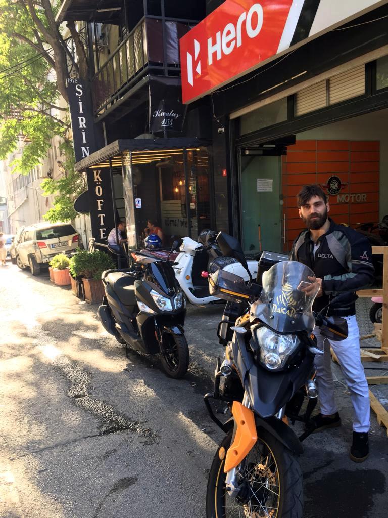 Senetle Mondial RX3 Evo 250 Motosiklet