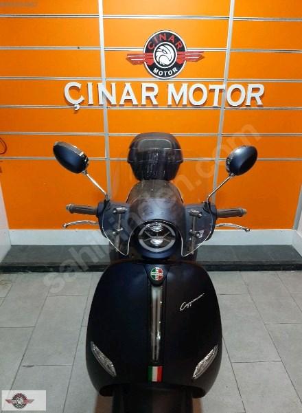 Arora AR 50 Cappucino 2021 Model Sıfır Kilometre Senetle Motosiklet Lacivert 4