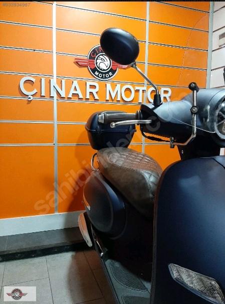 Arora AR 50 Cappucino 2021 Model Sıfır Kilometre Senetle Motosiklet Lacivert 3