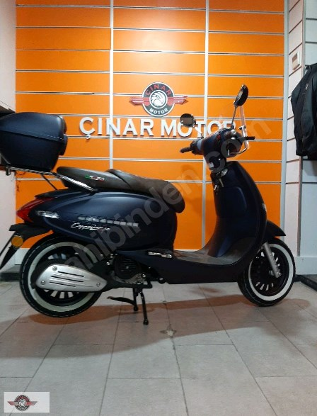 Arora AR 50 Cappucino 2021 Model Sıfır Kilometre Senetle Motosiklet Lacivert 2