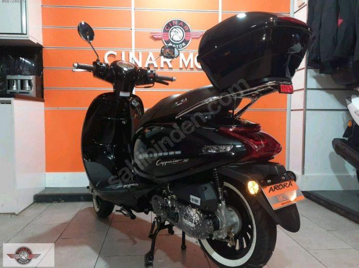Arora AR 50 Cappucino 2020 Model Sıfır Kilometre Senetle Motosiklet 3