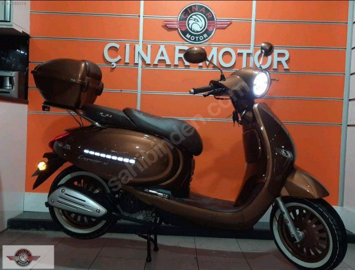 Arora AR 50 Cappucino 2020 Model Sıfır Kilometre Senetle Motosiklet 1