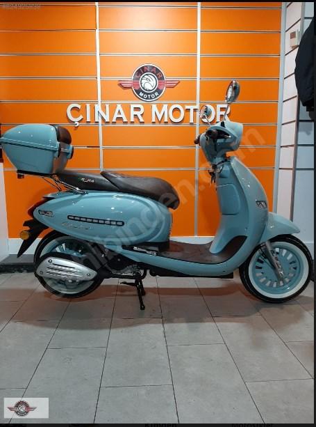 Arora Cappucino 125 2020 Model Sıfır Kilometre Senetle Motosiklet 3