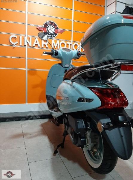 Arora Cappucino 125 2020 Model Sıfır Kilometre Senetle Motosiklet 2