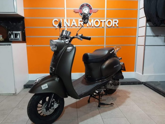 Motolux Efsane 50 2020 Model Sıfır Kilometre Senetle Motosiklet 3