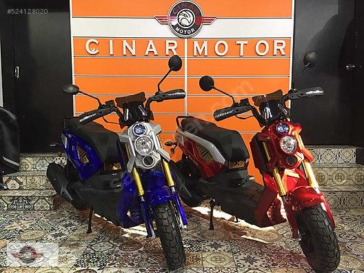 RMG Moto Gusto Rikko 2017 Model Sıfır Kilometre Senetle Motosiklet 1