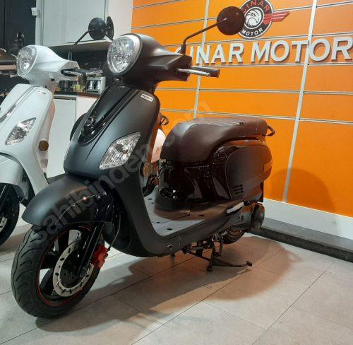 SYM Fiddle III 125 2020 Model Sıfır KM Siyah Senetle Motosiklet 15