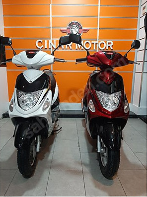RMG Moto Gusto Rapid 50 E4 2020 Model Sıfır Kilometre Senetle Motosiklet 17