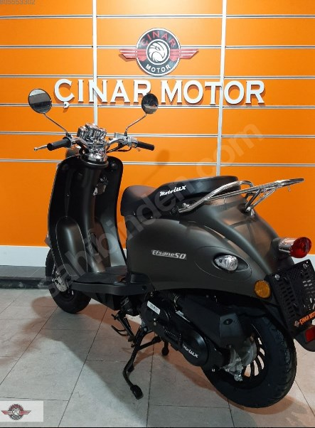 Motolux Efsane 50 2020 Model Sıfır Kilometre Senetle Motosiklet Çift Renk 4