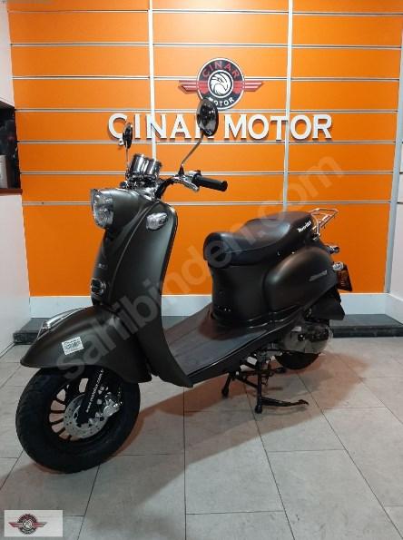 Motolux Efsane 50 2020 Model Sıfır Kilometre Senetle Motosiklet Çift Renk 2