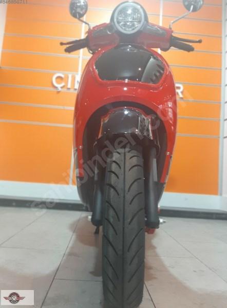 Motolux Efsane 50 2020 Model Sıfır Kilometre Senetle Motosiklet 4
