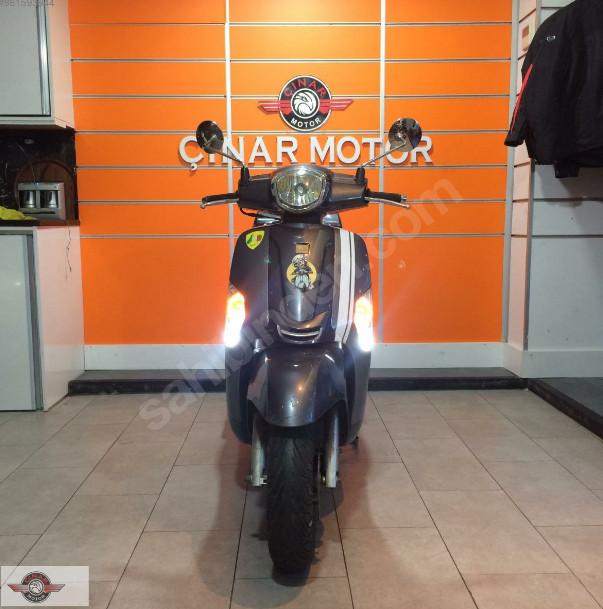 Kymco Like 125 2011 Model İkinci El Senetle Motosiklet 5