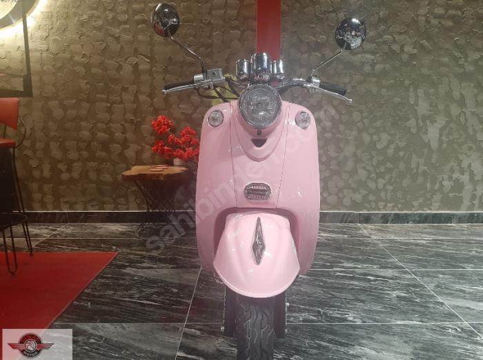 Motolux Efsane 50 2020 Model Sıfır Kilometre Senetle Motosiklet Pembe 2