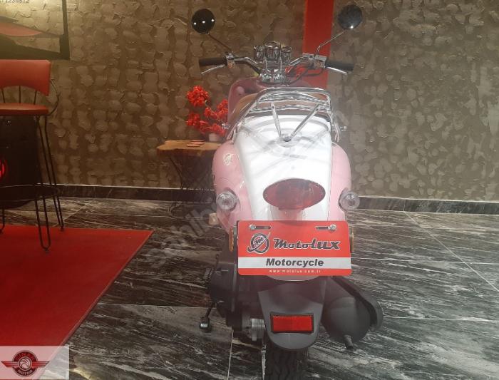 Motolux Efsane 50 2020 Model Sıfır Kilometre Senetle Motosiklet Pembe 3