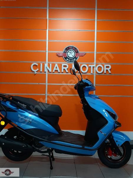 Motolux Nirvana 50cc 2020 Model Sıfır Kilometre Senetle Motosiklet Çift Renk 3