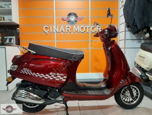 RMG Moto Gusto Diva 50 2020 Model İkinci El Senetle Motosiklet 8