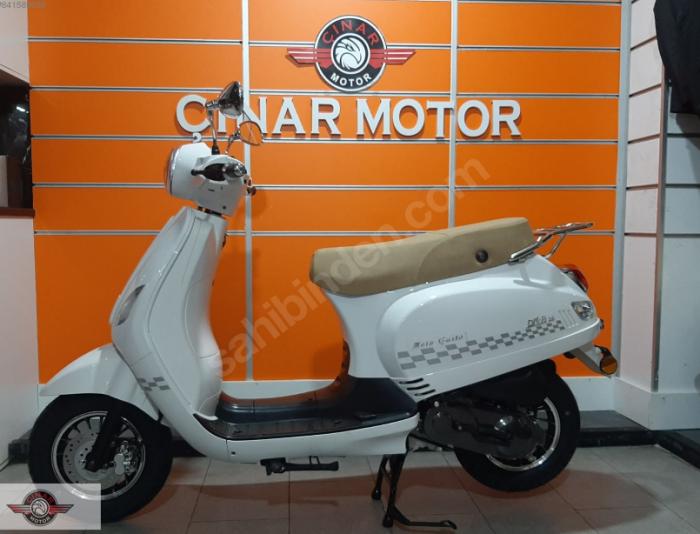 RMG Moto Gusto Diva 50 2020 Model Sıfır Kilometre Senetle Motosiklet 4