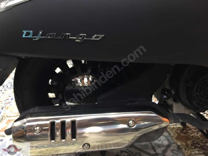 Peugeot Django 150 2018 Model Sıfır Kilometre Senetle Motosiklet Turuncu 3