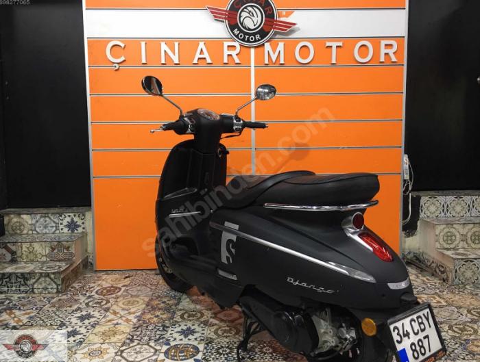 Peugeot Django 150 2018 Model Sıfır Kilometre Senetle Motosiklet Turuncu 4