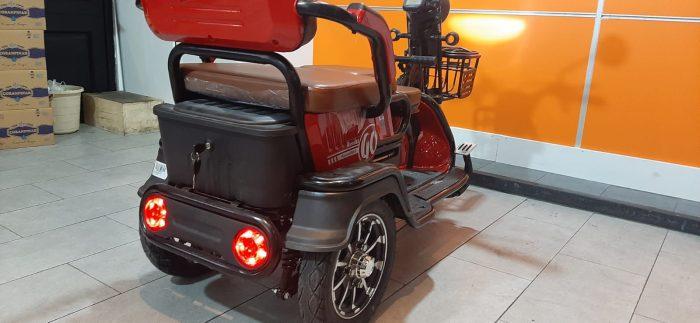 Motolux Cargo 5000 4000 w Elektrikli 2020 Model Sıfır Kilometre Senetle Motosiklet 8