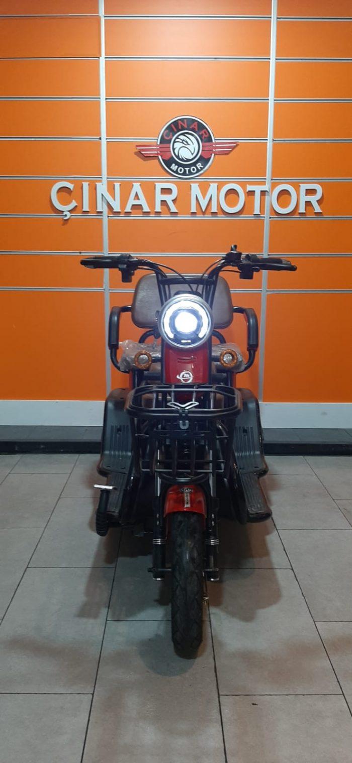 Motolux Cargo 5000 4000 w Elektrikli 2020 Model Sıfır Kilometre Senetle Motosiklet 3