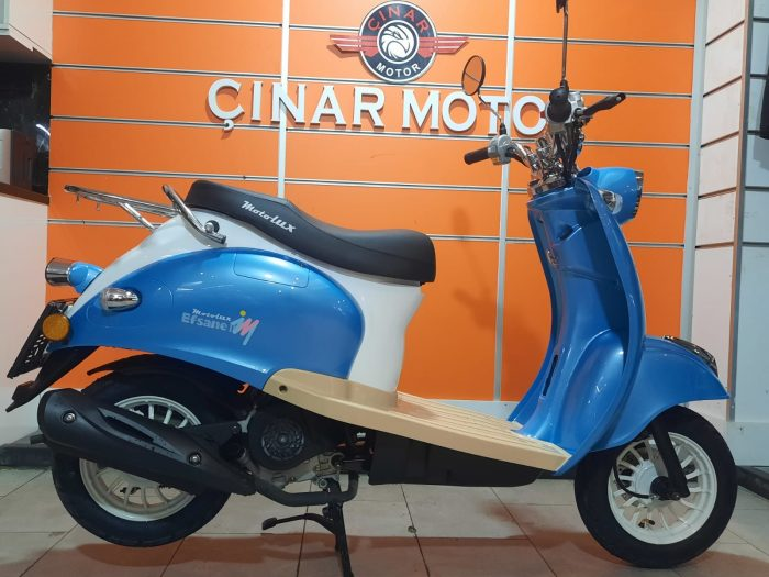 Motolux Efsane 50 2021 Model Renkleri Sıfır Kilometre Senetle Motosiklet 21