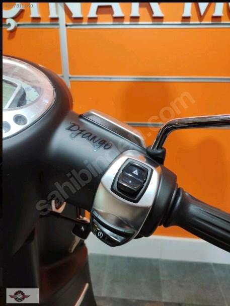 Peugeot Django 125 2021 Model Sıfır Kilometre Senetle Motosiklet 11