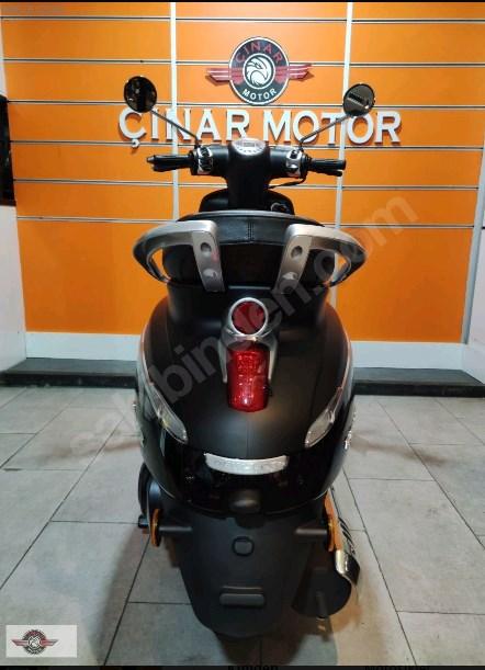 Peugeot Django 125 2021 Model Sıfır Kilometre Senetle Motosiklet 15
