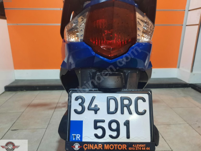 Arora AR 50-6 Capirossi 2020 Model Senetle Motorsiklet İkinci El 3