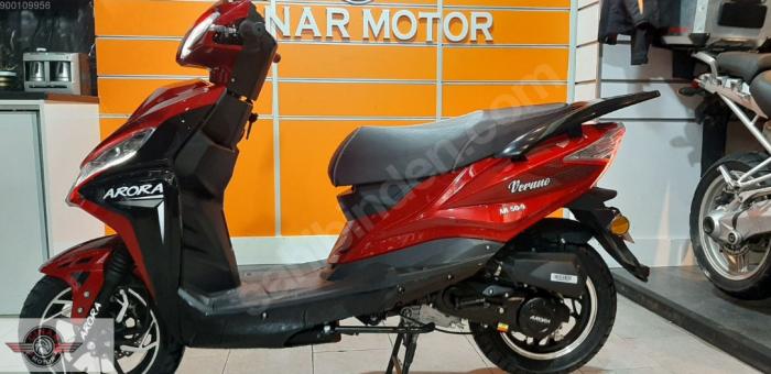 Arora AR 50-9 Verano 2020 Model Sıfır Kilometre Senetle Motorsiklet 4