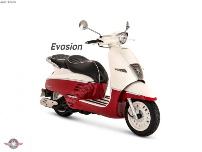 Peugeot Django 50 2020 Model Sıfır Kilometre Senetle Motosiklet 3