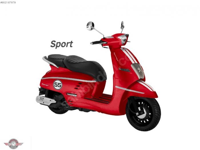 Peugeot Django 50 2020 Model Sıfır Kilometre Senetle Motosiklet 2