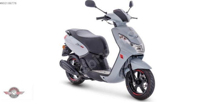 Peugeot Kisbe 50 2020 Model Sıfır Kilometre Senetle Motosiklet 3