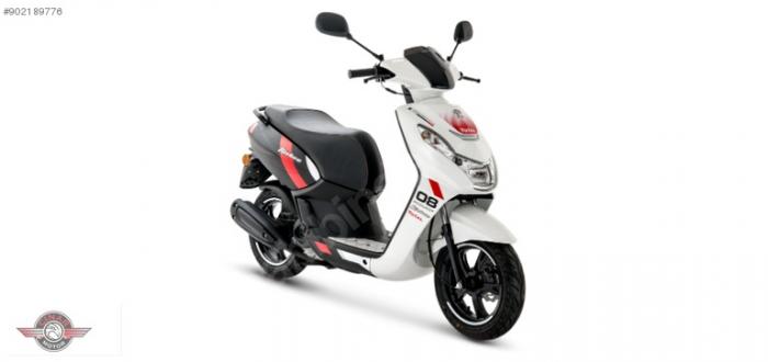 Peugeot Kisbe 50 2020 Model Sıfır Kilometre Senetle Motosiklet 2