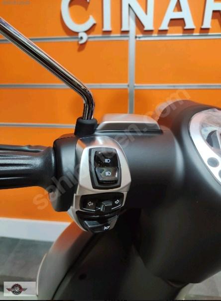 Peugeot Django 125 2021 Model Sıfır Kilometre Senetle Motosiklet 9