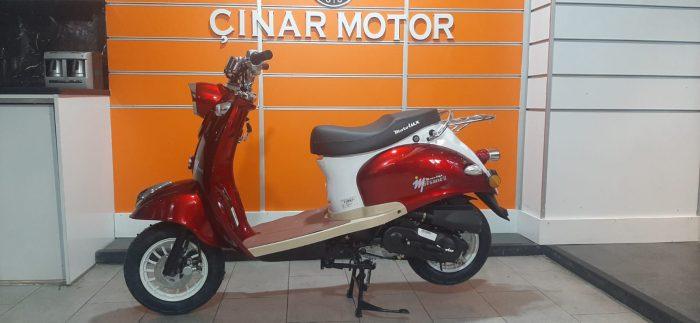 Motolux Efsane 50 2021 Model Renkleri Sıfır Kilometre Senetle Motosiklet 10