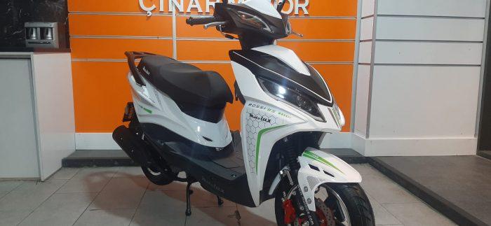 Motolux Rossi 50 2020 Model Sıfır Kilometre Senetle Motosiklet Çift renk 8