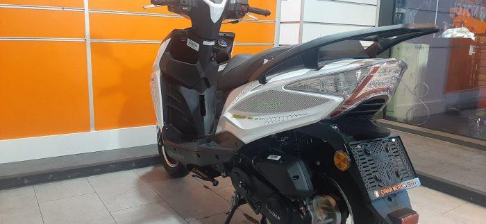 Motolux Rossi 50 2020 Model Sıfır Kilometre Senetle Motosiklet Çift renk 12