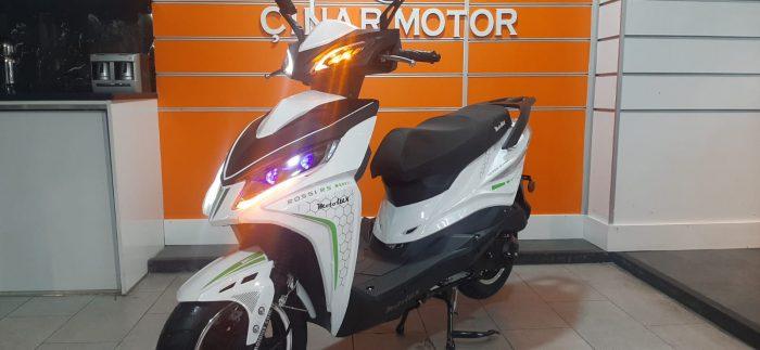 Motolux Rossi 50 2020 Model Sıfır Kilometre Senetle Motosiklet Çift renk 5