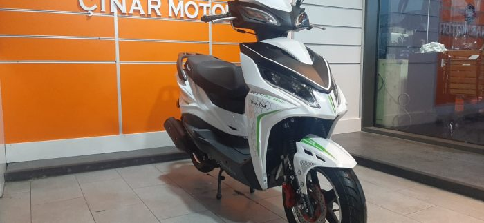 Motolux Rossi 50 2020 Model Sıfır Kilometre Senetle Motosiklet Çift renk 4