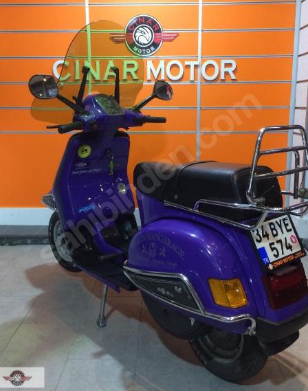 Vespa Cosa 200 1989 Model Senetle Motosiklet İkinci El 5
