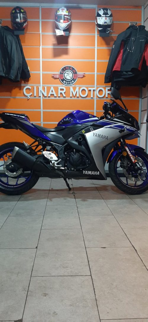Yamaha YZF R25 2016 Model Senetle Motosiklet İkinci El 6